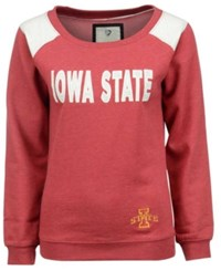 Colosseum Women's Iowa State Cyclones Fleece Sweatshirt Cardinal Red
