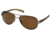 Native Patroller Chrome Crystal Brown Brown Sport Sunglasses
