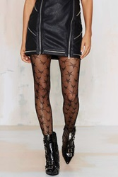 Nasty Gal Rise And Shine Fishnet Tights