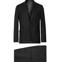 Paul Smith Black A Suit To Travel In Soho Slim Fit Wool Suit