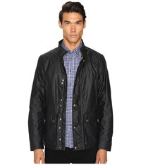 Belstaff New Tourmaster Signature 6Oz. Waxed Cotton Jacket Dark Navy Men's Coat