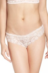 Honeydew Intimates Women's 'Camellia' Lace Thong Hour Glass