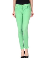 Etro Denim Pants Light Green