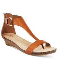 Kenneth Cole Reaction Great Gal Wedge Sandals Women's Shoes Toffee