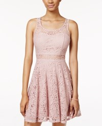 American Rag Lace Illusion Skater Dress Only At Macy's