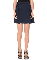 J Brand Skirts Mini Skirts Women Dark Blue
