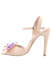 Miss Kg Fancy High Heeled Sandals Nude