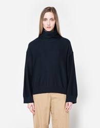 Nsco Turtleneck Knit In Navy