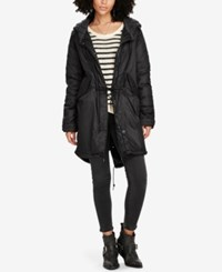 Denim And Supply Ralph Lauren Fishtail Parka Polo Black