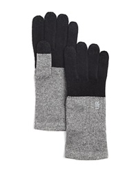 Urban Research Ur Color Block Long Tech Gloves Black Gray