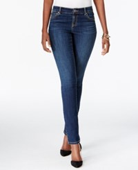Inc International Concepts Curvy Fit Skinny Leg Beautiful Wash Jeans Only At Macy's