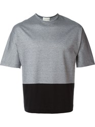 Stephan Schneider Colour Block T Shirt Grey