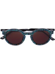 Thierry Lasry 'Sobriety' Sunglasses Blue