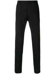 Calvin Klein Jeans Slim Fit Tailored Trousers Black