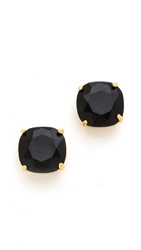 Kate Spade Small Square Stud Earrings Jet