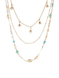Accessorize Layered Chain Beaded Rope