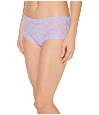Hanky Panky Signature Lace Boyshort Hyacinth Women's Underwear Blue
