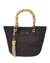 Heidi Klein Savannah Bay Super Mini Tote Bag Black
