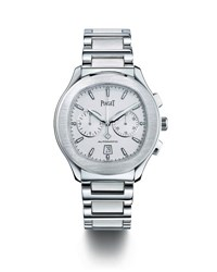 Piaget Polo Stainless Steel Chronograph Watch