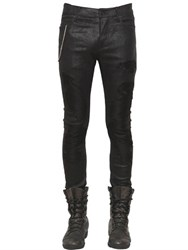 Rta 15Cm Skinny Stretch Nappa Leather Jeans