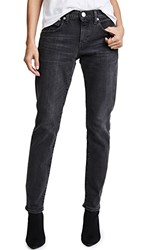 Red Card Easy Tapered Jeans Akira Black Used