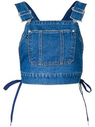 G.V.G.V. Denim Dungaree Top Blue