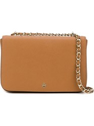 Tory Burch 'Robinson' Shoulder Bag Brown