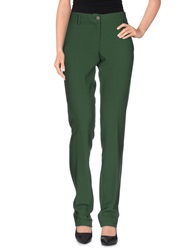 Love Moschino Casual Pants Emerald Green