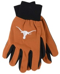 Forever Collectibles Texas Longhorns Palm Gloves Orange