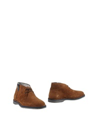 Bikkembergs Ankle Boots Brown