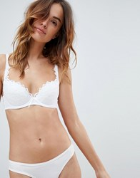 Lepel Fiore Padded Plunge Bra A E Cup White