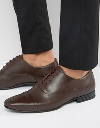 Kg By Kurt Geiger Kenwall Oxford Shoes Brown