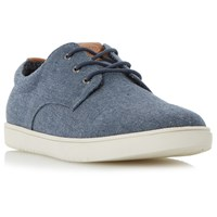 Dune Tucker Lace Up Trainers Blue