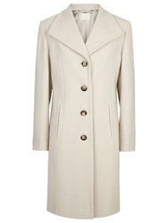Windsmoor Lapel Wool Coat Winter White