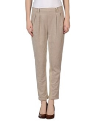 Es'givien Casual Pants Sand