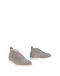 Navigare High Top Dress Shoes Dove Grey