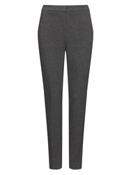 Jaeger Ponte Skinny Leg Trousers Charcoal