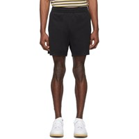 Acne Studios Black Emanuel Face Shorts