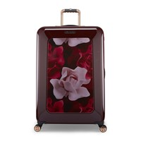 Ted Baker Porcelain Rose Suitcase Burgundy Purple
