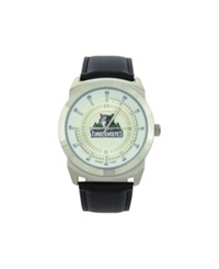 Game Time Minnesota Timberwolves Vintage Watch Black Silver