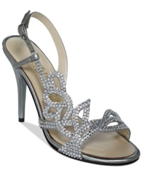 E Live From The Red Carpet Yanni Evening Sandals Women's Shoes Mercury