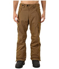 686 Authentic Smarty Cargo Pants Duck Pincord Men's Casual Pants Brown