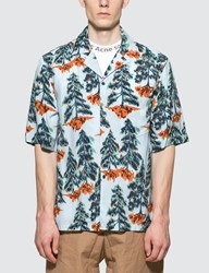 Acne Studios Simon Pine Flu V Shirt
