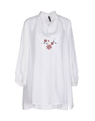 High Shirts Blouses Women White
