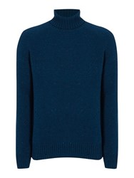 Howick Norwell Roll Neck Jumper Petrol