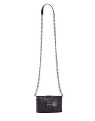 Dolce Vita Juliet Leather Phone Crossbody Bag Black