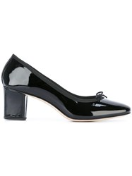 Repetto Bow Detail Pumps Black