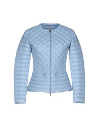 313 Tre Uno Tre Down Jackets Sky Blue