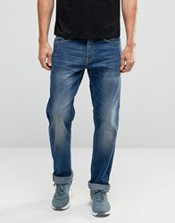 Blend Of America Jeans Rock Straight Fit In Stonewash Light Blue