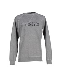 People Topwear Sweatshirts Men Grey